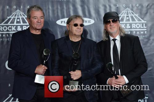 Ian Gillan, Ian Paice and Roger Glover 5