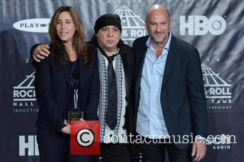 Cassandra Berns, Stevie Van Zandt and Brett Berns 1