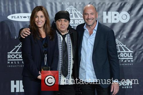 Cassandra Berns, Stevie Van Zandt and Brett Berns 2
