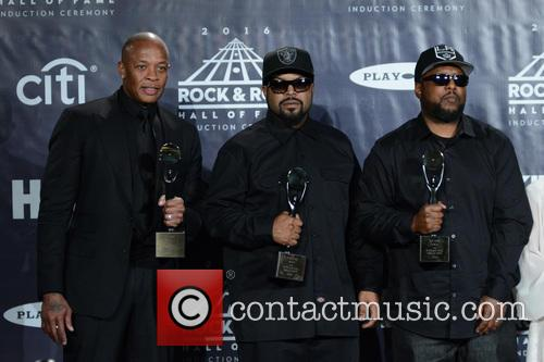 Dr. Dre, Ice Cube and Mc Ren 3