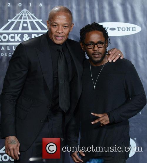 Dr. Dre and Kendrick Lamar 4