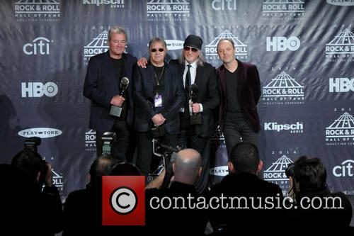 Ian Gillan, Ian Paice, Roger Glover and Lars Ulrich