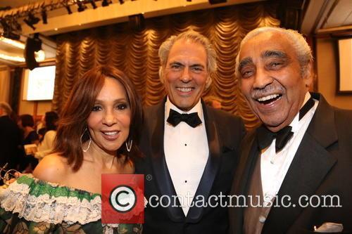 Lynne White, Joel Schnell and Charles Rangel 4