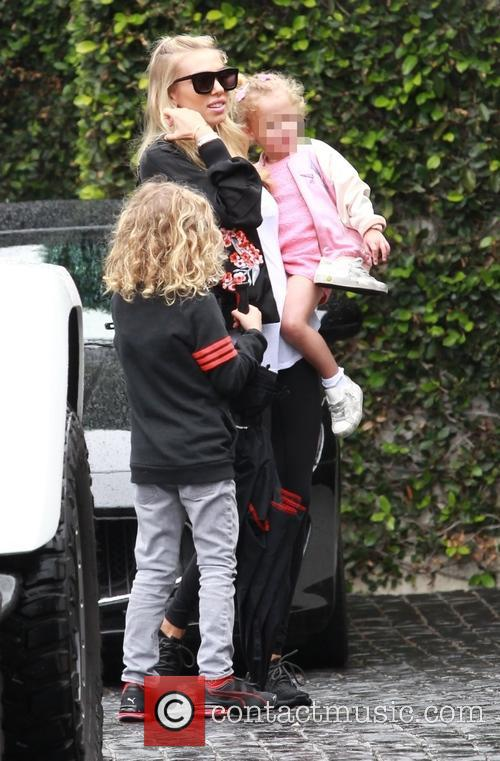 Petra Ecclestone, Lavinia Stunt, Andrew Stunt and James Stunt Jr. 1