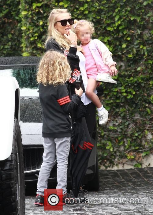 Petra Ecclestone, Lavinia Stunt, Andrew Stunt and James Stunt Jr. 2