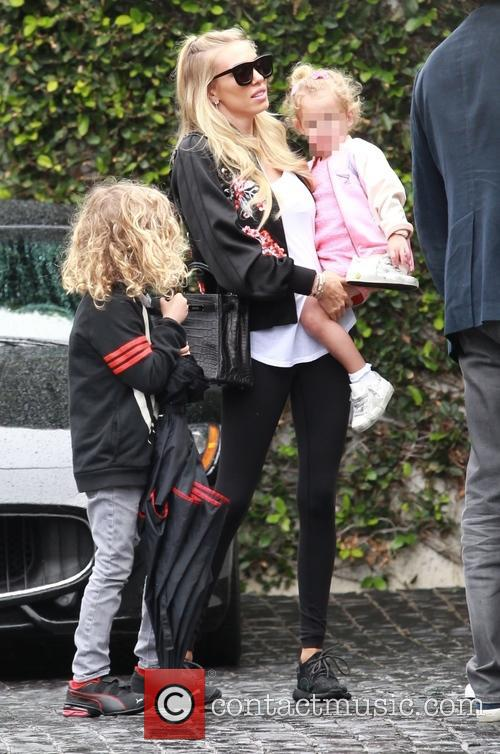 Petra Ecclestone, Lavinia Stunt, Andrew Stunt and James Stunt Jr. 7