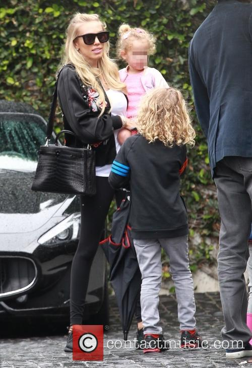 Petra Ecclestone, Lavinia Stunt, Andrew Stunt and James Stunt Jr. 8