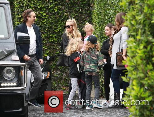 Petra Ecclestone, Lavinia Stunt, Andrew Stunt and James Stunt Jr. 9