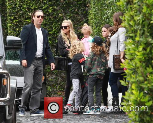 Petra Ecclestone, Lavinia Stunt, Andrew Stunt and James Stunt Jr. 10