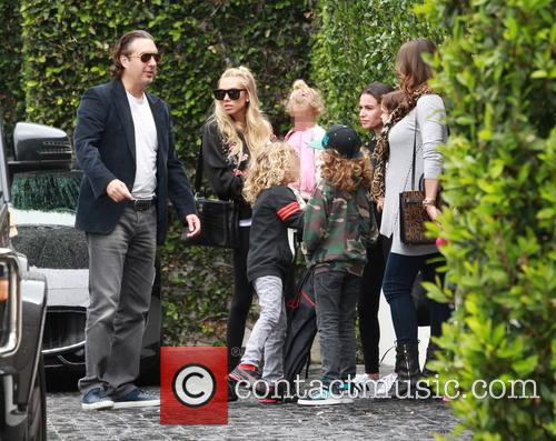 Petra Ecclestone, Lavinia Stunt, Andrew Stunt and James Stunt Jr. 11