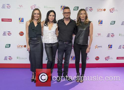Sharon Corr, Andrea Corr, Jim Corr and Caroline Corr 2