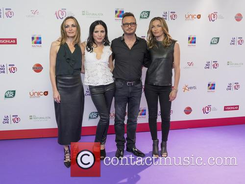 Sharon Corr, Andrea Corr, Jim Corr and Caroline Corr 4