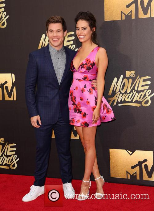 Adam Devine and Chloe Bridges 3