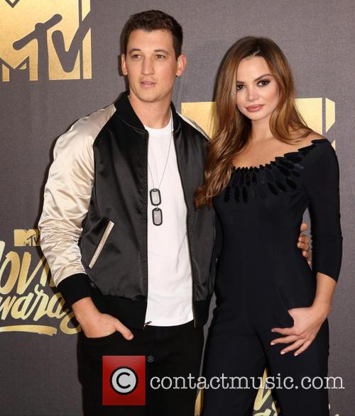 Miles Teller and Keleigh Sperry 9