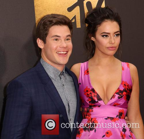 Adam Devine and Chloe Bridges 10
