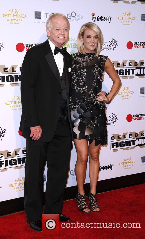 Jimmy Walker and Carrie Underwood 2