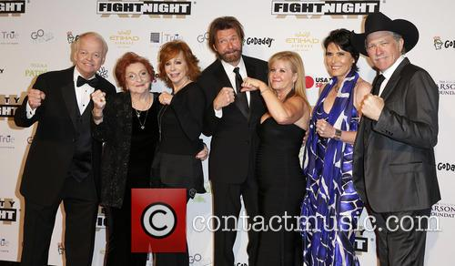 Jimmy Walker, Jacqueline Smith, Reba Mcentire, Ronnie Dunn, Janine Dunn, Barbara Brooks and Kix Brooks