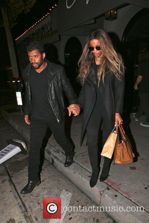 Russell Wilson and Ciara 2