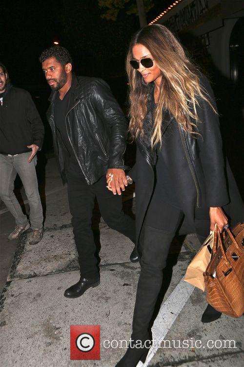 Russell Wilson and Ciara 4