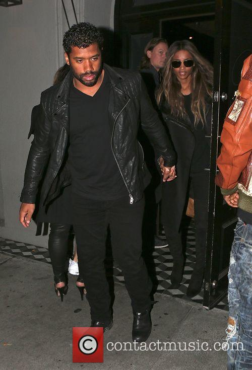 Russell Wilson and Ciara 6