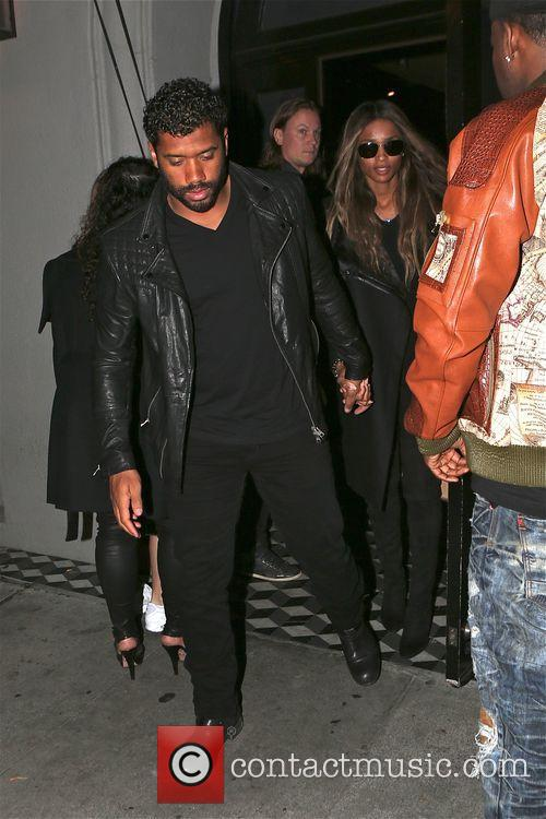 Russell Wilson and Ciara 7