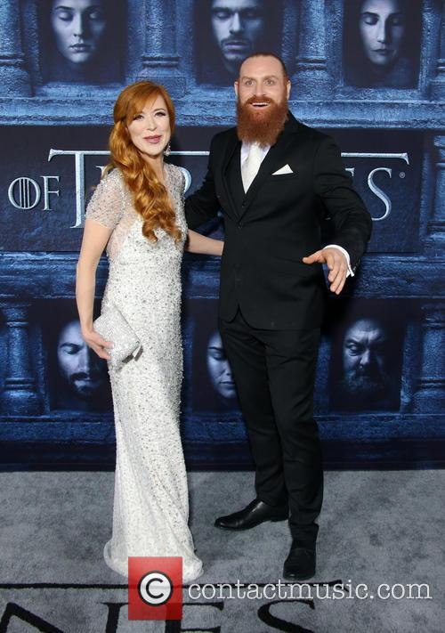 Kristofer Hivju and Gry Molvaer 1