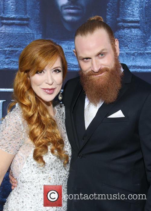Kristofer Hivju and Gry Molvaer 4