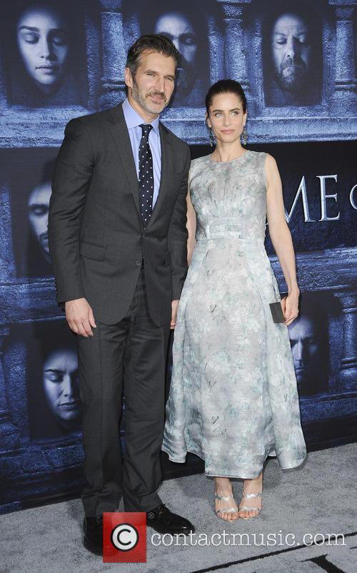 Amanda Peet and David Benioff 2