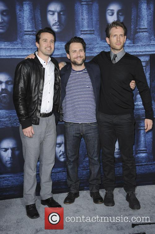Charlie Day, Glenn Howerton and Rob Mcelhenney 1