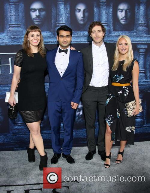 Emily V. Gordon, Kumail Nanjiani, Thomas Middleditch and Mollie Gates