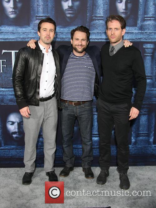 Rob Mcelhenney, Charlie Day and Glenn Howerton
