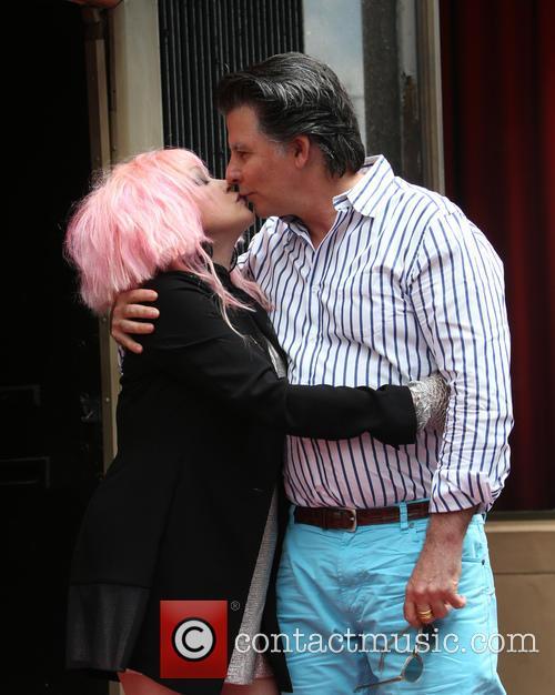 Cyndi Lauper and David Thornton 3