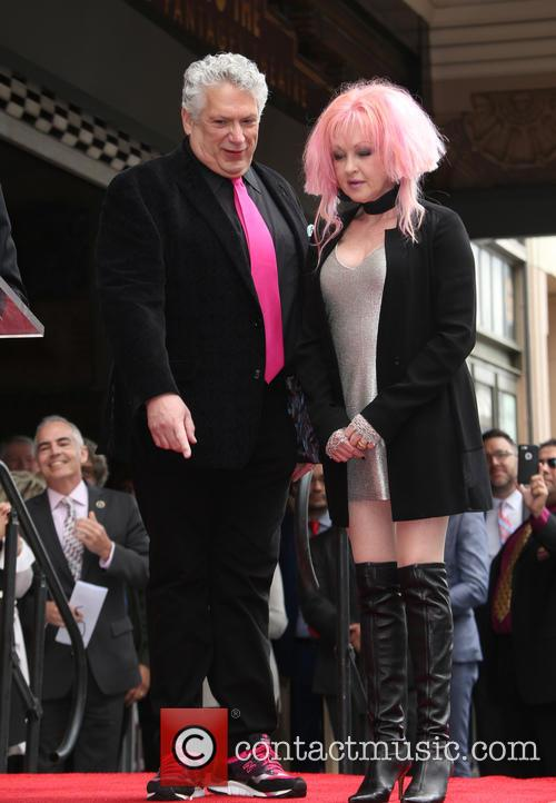 Cyndi Lauper and Harvey Fierstein Honored with A...