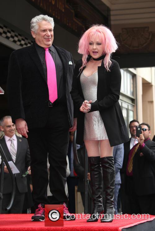 Harvey Fierstein and Cyndi Lauper 2