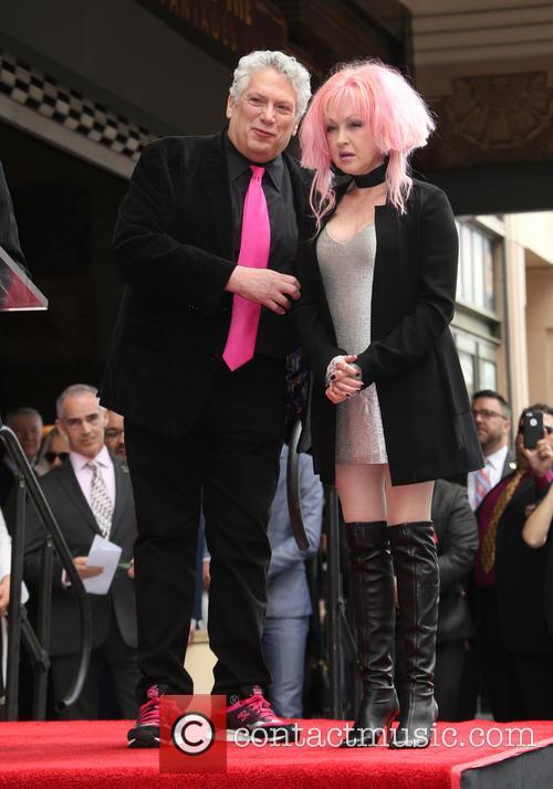 Harvey Fierstein and Cyndi Lauper 3