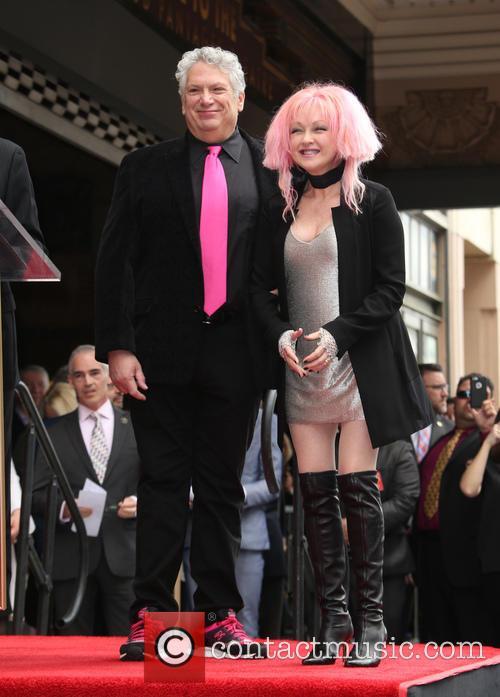 Harvey Fierstein and Cyndi Lauper 4