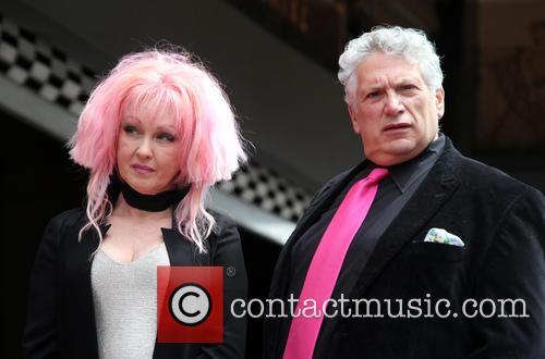 Cyndi Lauper and Harvey Fierstein 8