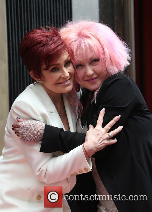 Sharon Osbourne and Cyndi Lauper 10