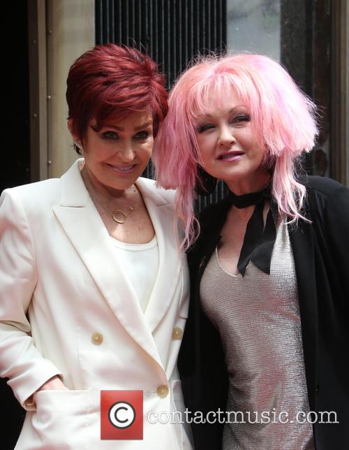 Sharon Osbourne and Cyndi Lauper 11