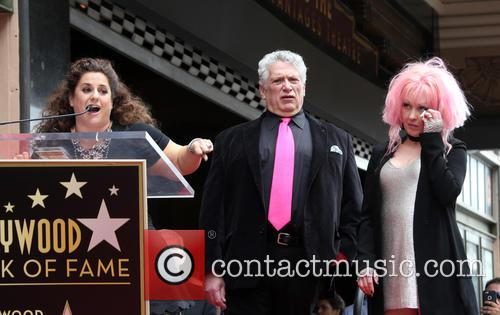 Marissa Jaret Winokur, Harvey Fierstein and Cyndi Lauper 2