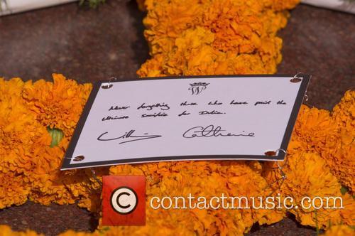 Duke and Duchess of Cambridge, Wreath laying, Rajpath,...