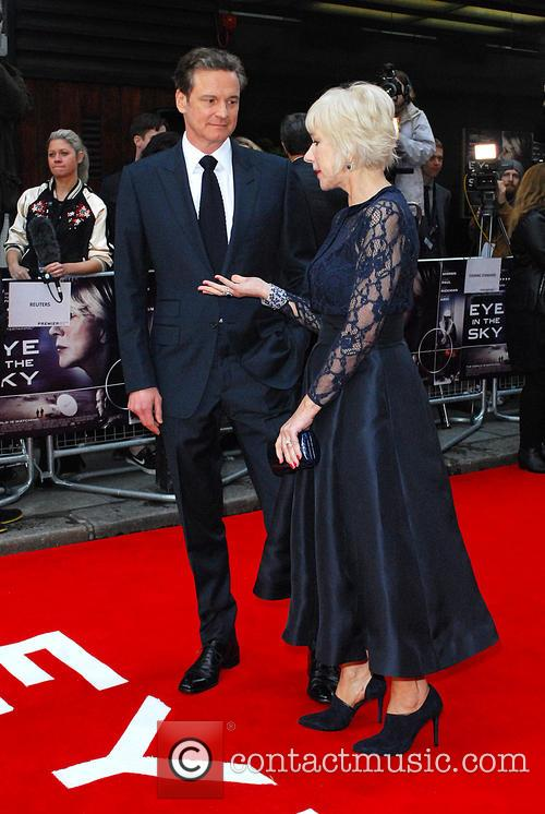 Dame Helen Mirren and Colin Firth 1