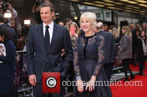 Colin Firth and Dame Helen Mirren 7