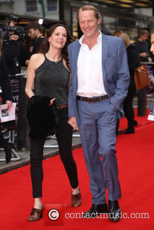 Charlotte Emmerson and Iain Glen 2