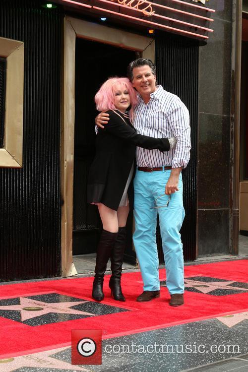 Cyndi Lauper and Husband 4