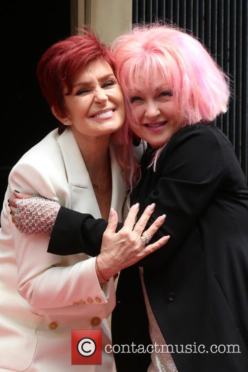 Sharon Osbourne and Cyndi Lauper 8