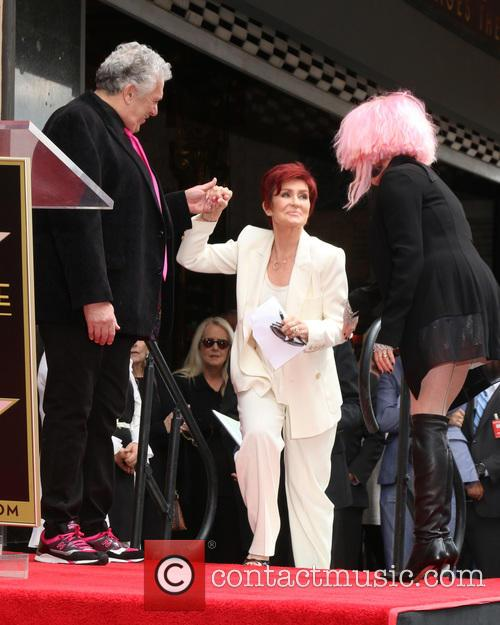 Harvey Fierstein, Sharon Osbourne and Cyndi Lauper