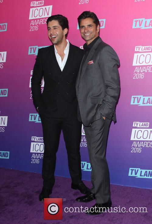 Josh Peck and John Stamos
