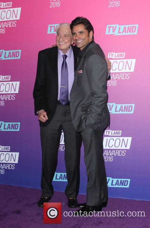 Garry Marshall and John Stamos 1