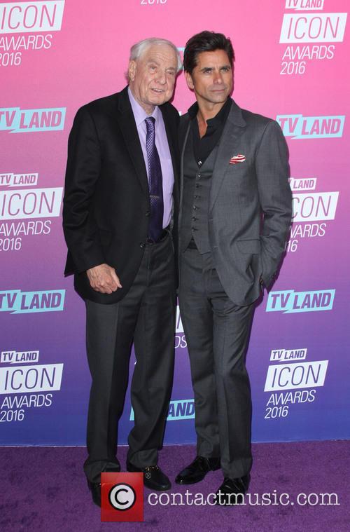 Garry Marshall and John Stamos 3